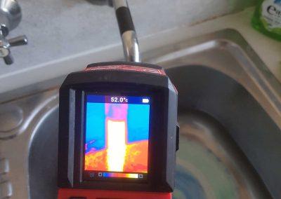 thermal imaging pipe